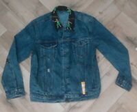 Men's LEVIS Denim JACKET Special Edition HULA in BLUE - UK SIZE XL