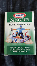 1993 Kraft Singles National League Superstars Baseball In the Original Pack New