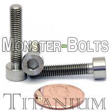 5mm x 0.80 x 25mm - TITANIUM SOCKET HEAD CAP Screw - DIN 912 Grade 5 Ti M5 Hex