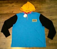 ODD FUTURE Hooded Rugby Longsleeve Shirt