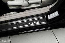 Einstiegsleisten Schutzleisten passend für Chevrolet Spark 2 2010-2014 Carbon