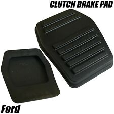 2x CLUTCH BRAKE PEDAL PAD FOR FORD FIESTA MK6 RUBBER 94BB7A624AA 6789917