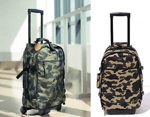 A BATHING APE Goods BAPE TRAVEL COLLECTION LUGGAGE BAG CORDUR Green / Yellow New