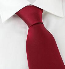 Michelsons UK - 7.5cm Wide Plain Silk Ties