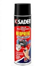COLLE AEROSOL 500ML MULTI USAGES TYPE NEOPRENE SADER LIEGE FEUTRE CUIR PAPIER