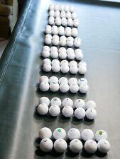 golf course logo golf balls, collection of 100