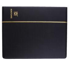 Paper Money Note Binder Album Collecting Book Coin Album Holder Book -Black