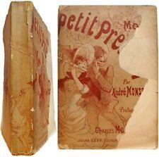 Mon petit premier Environs de Paris autres voyages 1887 André Monselet dessins