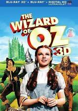 WIZARD OF OZ 3D BLU RAY 3D + BLU RAY VERSION NEW! W 3D SLIPCOVER! FAMILY CLASSIC