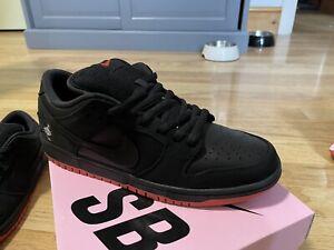 Nike Dunk Pigeon Low SB Black Red UK 9 EU 44