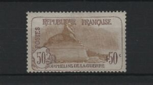 """FRANCE STAMP TIMBRE N° 153 """" ORPHELINS 50c+50c LION BELFORT """" NEUF xx TTB T726"""