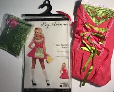 NEW Beer Bar Wench Waitress Womens Halloween Costume Size Medium Dress Apron Set