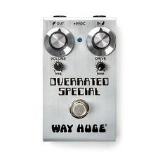 New Mini Way Huge WM28 LtdEd OVERRATED SPECIAL OVERDRIVE Joe Bonamassa Dumble...