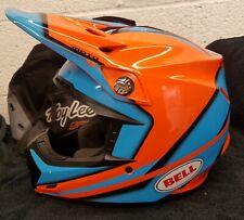 Bell Moto 9 MX Motocross Helmet Spark Orange / Blue  Adult KTM colours M medium
