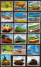 PARAGUAY Nouveaux et anciens avions et locomotives G28
