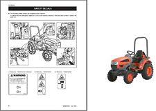 Kioti CK20 CH20 CK20J CK20H CK20HJ Tractor Repair Service Manual CD  -  CK CH 20