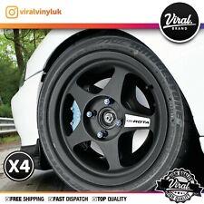 Rota Slipstream x4 Wheel Stickers, Decal, Rays, DesmondRegamaster, Kyusha, GTR-D