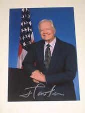 US President JIMMY CARTER Signed 4x6 Photo AUTOGRAPH 1D