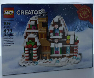 LEGO Gingerbread House (40337) New & Factory Sealed
