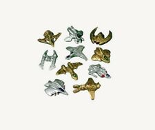 12 Mini Gold Silver Outer Space Ship Cruisers Party Goody Bag Favor Toy Supply