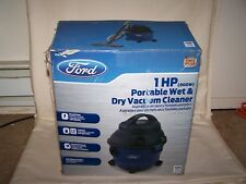 FORD Portable Wet & Dry Shop Vacuum