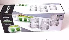 Tovolo Tiki Ice Molds Silicone Tray Set of 3  Tiki Shaped Ice Cubes New