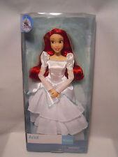 "Disney Store Classic Ariel Wedding Doll 11 1/2"" - Little Mermaid"