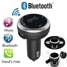 Wireless BLUETOOTH AUTO TRASMETTITORE FM Lettore MP3 Radio LCD SD USB Charger Kit