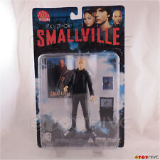 Smallville Lex Luthor action figure with trading card - DC Direct worn packaging