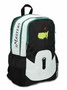 Official 2021 Masters Nylon Black Bookbag Backpack Augusta National Golf Club