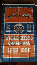 New York Mets World Series 3x5 Flag. US seller. Free shipping within the US!!