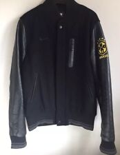 Nike Brazil Destroyer Premium Leather Varsity Jacket Football Medium Brasil Rare