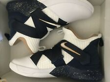 2582440bcc5 Nike Lebron James Soldier SFG Witness Mens AO4054-100 White Navy Shoes Size  12