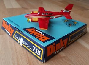 Dinky Airplane Beechcraft C55 Baron #715 Mint & Excellent Boxed