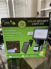 New listing Nature Power Single Cob Solar Motion Security Light, 500 Lumens, up to 50 ft