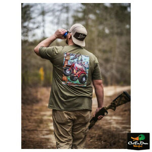 NEW COMBAT WATERFOWL - CLYDE FEATHERSTON VOL. 1 S/S LOGO T-SHIRT