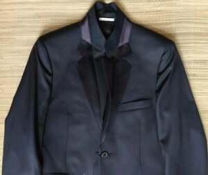 Paul Smith w/black & purple trim blazer size 40UK, Made in Italy, 100% Wool