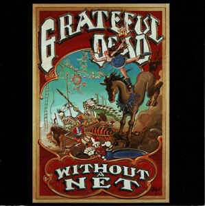 1 CENT 2xCD The Grateful Dead ‎– Without A Net / CRC EDITION