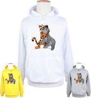 Tigger Melancholy Eeyore Cute Print Sweatshirt Unisex Hoodies Graphic Hoody Tops