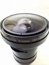 Rare! Nikon Fisheye-NIKKOR 10mm f5.6 180 dgree-OP Lens.