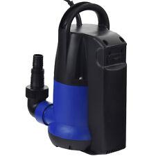 250 W Pumpe Wasserpumpe Gartenpumpe Tauchpumpe Regenfasspumpe Schwimmerschalter