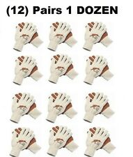 (12 Pairs) of Red Hare® Nitrile Plam Coated Gloves 9670Lmg New! Great value!