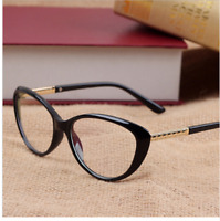 Retro Cat Eye Eyeglasses Women Optical Spectacle Frame Computer Reading glasses