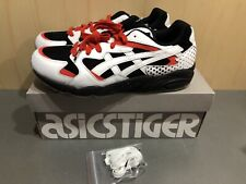 Brand New Men's Asics Tiger Gel Diablo Shoes Black / White 1191A199 Size 10