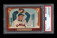 1955 Bowman BB Card #191 Bob Lemon Cleveland Indians PSA EX 5 !!!