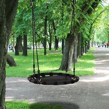 New listing Children's Mesh Floating Tree Swing Platform for Playground, Black