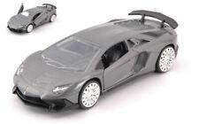 Lamborghini Aventador Sv Metallic Grey 12,5cm Model JADA TOYS
