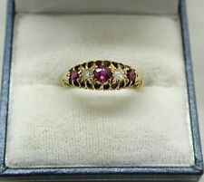 Ruby Vintage Fine Rings (Unknown Period)