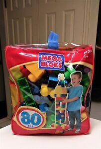 Mega Bloks Big Building Bag 80-Piece Classic Blocks