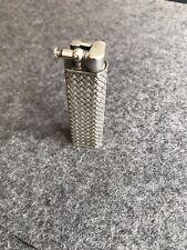 SAMMLERSTÜCK altes Dunhill Feuerzeug 800er Silber vor 1920 Paris